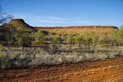 Straße in Alice Springs stockbilder