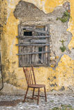 Straße in alter Stadt Rhodos, Griechenland Stockbilder
