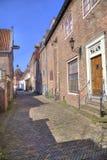 Straße in Amersfoort, Holland Stockbilder