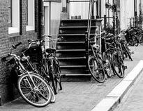 Straße in Amsterdam Stockfoto
