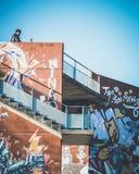 Straße Art Graffiti in der Stadt lizenzfreie stockfotos