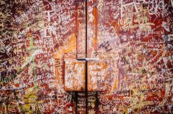 Straße Art Mural in Georgetown Lizenzfreie Stockfotos