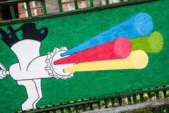 Straße Art Nr 3 stockbild