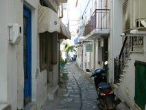 Straße auf der Insel Lizenzfreies Stockfoto