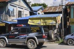 Straße auf Myanmar Stockfoto