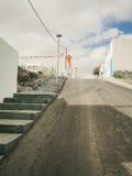 Straße aufwärts Stockfotos