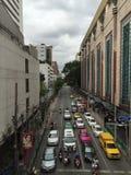Straße in Bangkok stockfoto