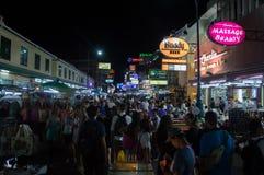 Straße Bangkok Khao San Stockfotos