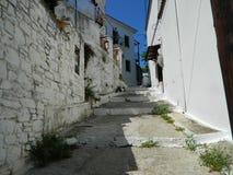 Straße bei Skiathos Lizenzfreie Stockfotos