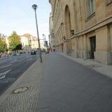 Straße in Berlin Lizenzfreies Stockfoto