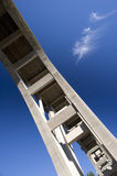 Straße Brücke Pasadena-Kolorado lizenzfreies stockfoto