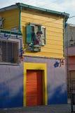 Straße in Buenos Aires, Argentinien. Stockbild