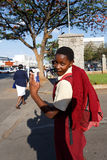 Straße in Bulawayo Simbabwe Lizenzfreie Stockfotos