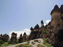 Straße in Cappadocia lizenzfreies stockbild