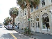 Straße in Charleston Stockfotografie
