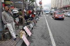 Straße in China Lizenzfreie Stockbilder