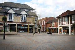Straße in Colchester Stockbilder