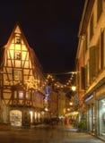 Straße in Colmar Lizenzfreies Stockbild