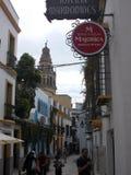 Straße in Cordoba Spanien Stockbilder