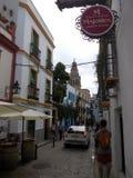 Straße in Cordoba Spanien Lizenzfreies Stockbild