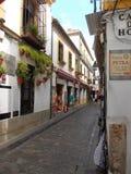Straße in Cordoba Spanien Lizenzfreie Stockfotografie