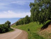 Straße in den Bergen Lizenzfreie Stockbilder