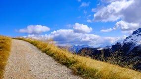 Straße in den Wolken Stockbild