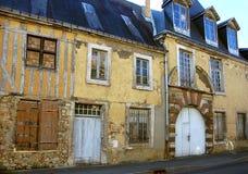 Straße in der alten europäischen Stadt Stockfotos