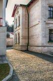 Straße in der alten historischen Stadt, Moldau Stockfotografie