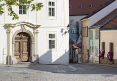 Straße in der alten Stadt lizenzfreies stockfoto