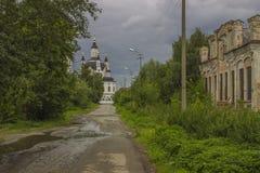 Straße der alten Stadt Stockfotografie