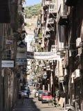 Straße in der alten Stadt von Neapel, Italien Stockfoto
