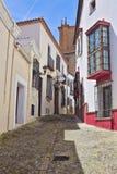 Straße in der alten Stadt von Ronda andalusia lizenzfreies stockbild