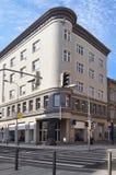 Straße der Cheb Stadt. Tschechische Republik Lizenzfreies Stockfoto