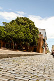 Straße der Felsen, altes San Juan, Puerto Rico 2 Stockbilder