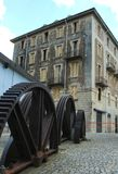 Straße in der historischen Mitte Lizenzfreie Stockfotos
