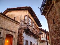 Straße in der historischen Mitte von Antalya, die Türkei Lizenzfreie Stockfotos
