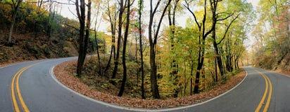 Straße in der Landschaft Lizenzfreie Stockbilder