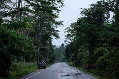 Straße der Reise Stockbild