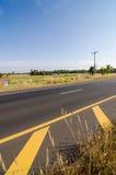 Straße in der rustikalen Stadt lizenzfreies stockfoto