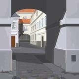 Straße der Stadt vektor abbildung
