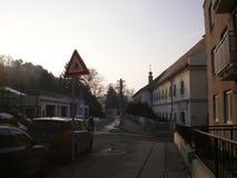 Straße in der Stadt Lizenzfreie Stockbilder