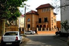 Straße in der Stadt Braila, Rumänien Stockfoto