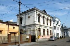 Straße in der Stadt Braila, Rumänien Lizenzfreies Stockbild