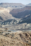 Straße in der Wüste Lizenzfreies Stockfoto