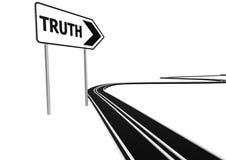 Straße der Wahrheit Lizenzfreies Stockfoto