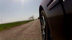 Straße des alten Landes stock footage
