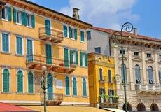 Straße des Verona-Stadtzentrums Lizenzfreies Stockbild