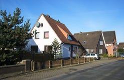 Straße in Deutschland Stockfoto