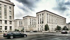 Straße, die in Washington Dc photoshooting ist Lizenzfreie Stockfotografie